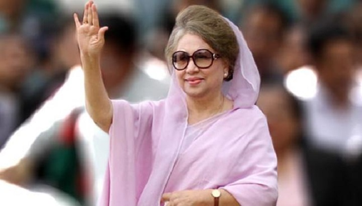 BNP chairperson Khaleda Zia at Evercare Hospital.jpeg